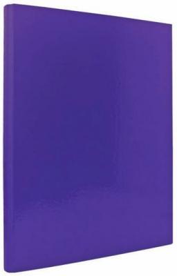Папка с прижимным механизмом ламинированная, фиолетовая IND PR ФИОЛ от 123.ru