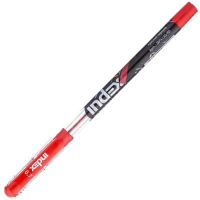 Шариковая ручка Index IBP4130/RD красный 0.7 мм шариковая ручка автоматическая index vinson красный 0 7 мм ibp416 rd ibp416 rd