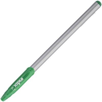 Шариковая ручка Index IBP4110/GN зеленый 0.7 мм