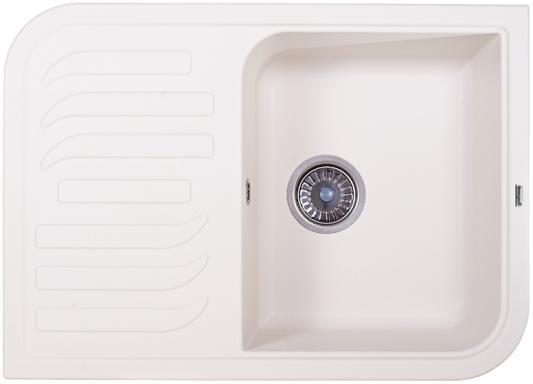 Мойка Weissgauff SOFTLINE 695 Eco Granit белый  цена и фото