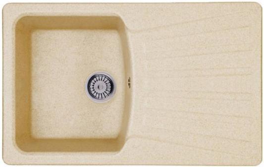 Мойка Weissgauff CLASSIC 800 Eco Granit светло-бежевый  мойка кухонная weissgauff classic 800 eco granit черный