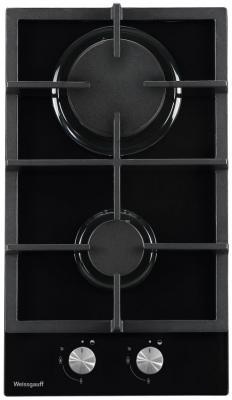 Варочная панель газовая Weissgauff HGG 320 BG черный