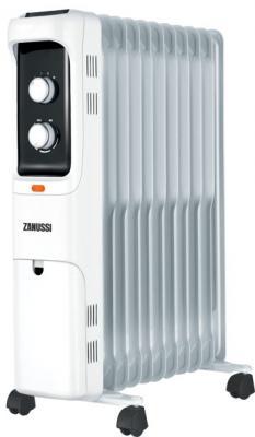 Масляный радиатор Zanussi Loft ZOH/LT-11W 2200 Вт ручка для переноски колеса для перемещения белый