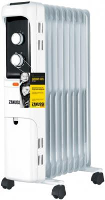 Масляный радиатор Zanussi Loft ZOH/LT-09W 2000 Вт термостат колеса для перемещения белый