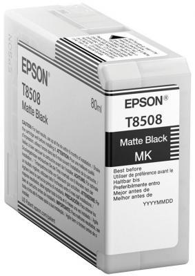 Картридж Epson C13T850800 для Epson SureColor SC-P800 черный матовый картридж epson c13t850600 для epson surecolor sc p800 светло пурпурный