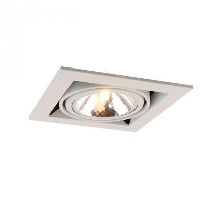 Встраиваемый светильник Arte Lamp Cardani Semplice A5949PL-1WH встраиваемый светильник arte lamp cardani semplice a5949pl 1wh