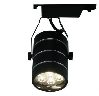 Трековый светодиодный светильник Arte Lamp Cinto A2707PL-1BK трековый светодиодный светильник arte lamp cinto a2712pl 1wh