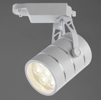Трековый светодиодный светильник Arte Lamp Cinto A2707PL-1WH arte lamp трековый светильник arte lamp cinto a2707pl 1bk