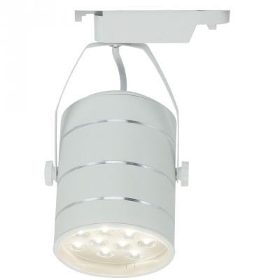Трековый светодиодный светильник Arte Lamp Cinto A2712PL-1WH трековый светодиодный светильник arte lamp cinto a2712pl 1wh