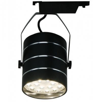 Трековый светодиодный светильник Arte Lamp Cinto A2718PL-1BK трековый светодиодный светильник arte lamp cinto a2712pl 1wh