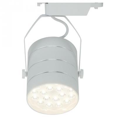 Трековый светодиодный светильник Arte Lamp Cinto A2718PL-1WH arte lamp трековый светильник arte lamp cinto a2707pl 1bk