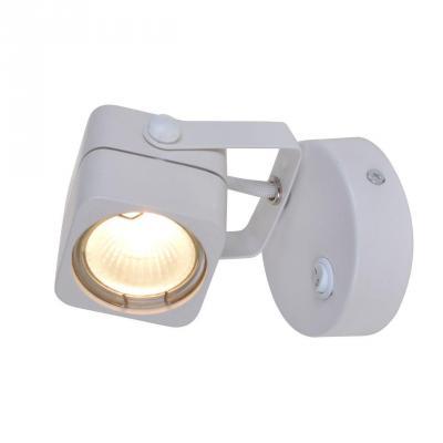 Спот Arte Lamp Lente A1314AP-1WH бра arte lamp lente a1314ap 1bk