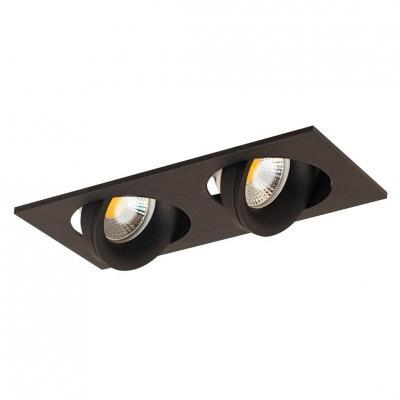 Встраиваемый светильник Donolux DL18412/02TSQ Black встраиваемый светильник donolux sn1510 02