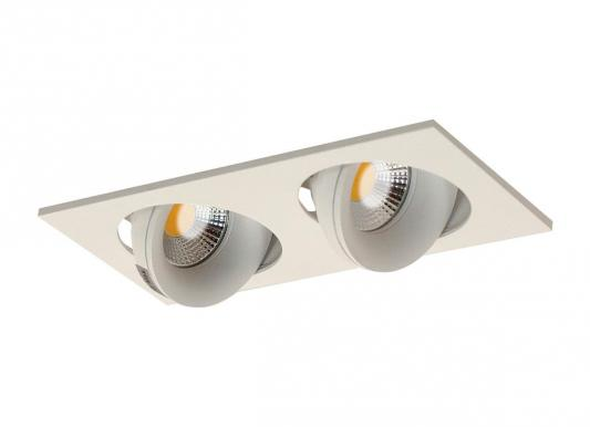 Встраиваемый светильник Donolux DL18412/02TSQ White майка print bar double trouble