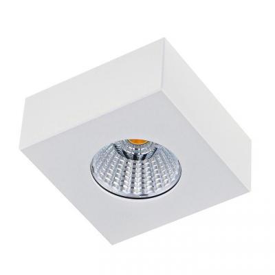 Потолочный светодиодный светильник Donolux DL18812/7W White SQ arlight светильник md150 7w white