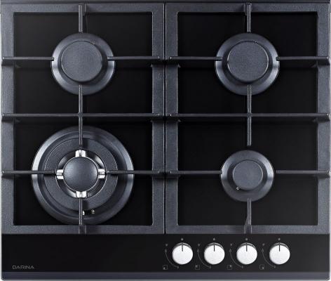 Варочная панель газовая Дарина 1T3 C308 B черный