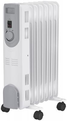 Масляный радиатор Oasis OS-20 2000 Вт колеса для перемещения белый