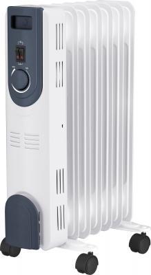 Масляный радиатор Oasis OT-15 1500 Вт колеса для перемещения ручка для переноски белый цена и фото
