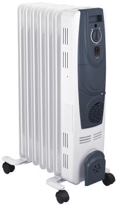 Масляный радиатор Oasis OВ-20Т 2000 Вт термостат колеса для перемещения ручка для переноски белый