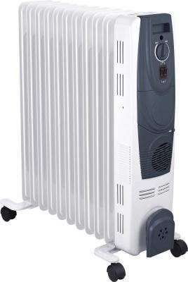 Масляный радиатор Oasis OВ-25Т 2500 Вт колеса для перемещения термостат белый