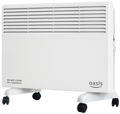 Конвектор Oasis КМ-10 1000 Вт термостат колеса для перемещения белый