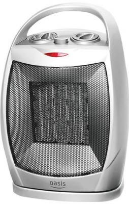 Тепловентилятор Oasis КS-15R 1500 Вт термостат вентилятор ручка для переноски серебристый цена и фото