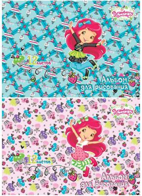 Альбом для рисования Action! Strawberry shortcake A4 12 листов SW-AA-12 в ассортименте юбка strawberry witch lolita sk