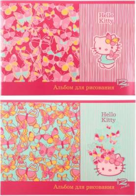 Альбом для рисования Action! Hello Kitty A4 12 листов HKO-AA-12 в ассортименте
