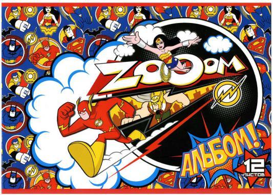 Альбом для рисования Action! DC Comics A4 12 листов DC-AA-12 в ассортименте ubec 3а 12в dc dc преобразователь понижающий модуль 3а 12v мини bec для rc самолета с fpv
