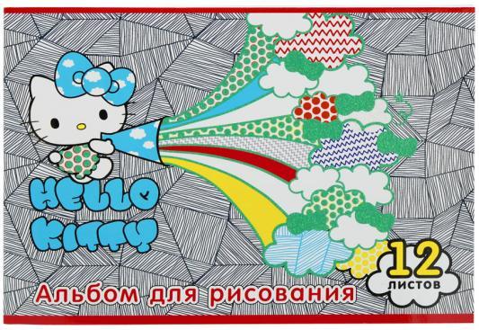 Альбом для рисования Action! Hello Kitty A4 12 листов HKO-AA-12-4 в ассортименте альбом для рисования action dc comics a4 40 листов dc aa 40 1 в ассортименте
