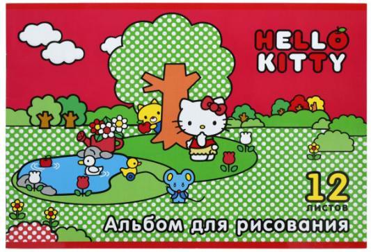 Альбом для рисования Action! Hello Kitty A4 12 листов HKO-AA-12-3 в ассортименте альбом для рисования action dc comics a4 40 листов dc aa 40 1 в ассортименте