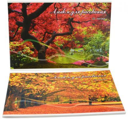 Альбом для рисования Action! Краски Осени A4 24 листа AA-24/11 в ассортименте альбом для рисования хатбер величественная природа a4 32 листа 028079 32а4в вп в ассортименте