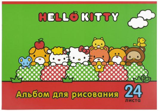 Альбом для рисования Action! Hello Kitty A4 24 листа HKO-AA-24-3 в ассортименте альбом для рисования action dragons a4 24 листа dr aa 24 в ассортименте dr aa 24
