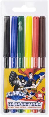 Набор фломастеров Action! DC Comics 6 шт DC-AWP129-06 в ассортименте