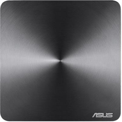 Неттоп ASUS VivoMini VM65-G095M slim Intel Core i3-7100U 4Gb SSD 128 Intel HD Graphics 630 Без ОС серый 90MS00T1-M00950 неттоп asus vivopc vm62 g294z slim 90ms00d1 m02950