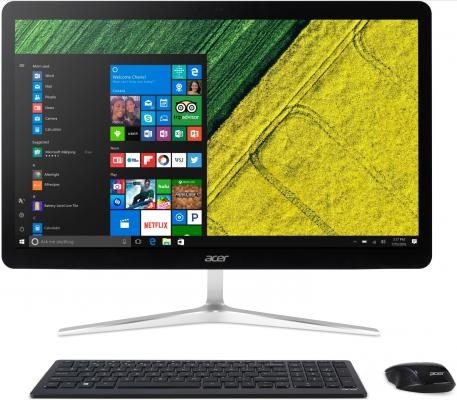 Моноблок 23.8 Acer Aspire Z24-880 1920 x 1080 Intel Core i3-7100T 4Gb 1Tb nVidia GeForce GT 940МХ 2048 Мб DOS серебристый DQ.B8TER.005 моноблок acer aspire z3 715 intel core i3 7100t 8гб 1тб nvidia geforce 940m 2048 мб dvd rw windows 10 черный [dq b84er 005]