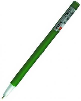 Шариковая ручка Index Gamma зеленый 1 мм IBP3490/GN