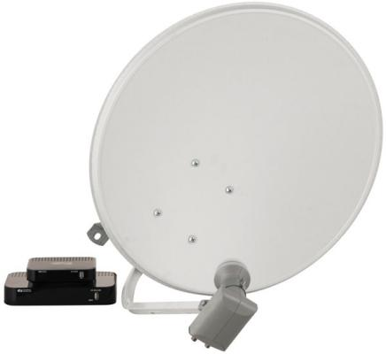Комплект спутникового телевидения Триколор GS B532M + GS C592 Сибирь комплект на 2 ТВ черный 046/91/00049153 модуль условного доступа со смарт картой триколор тв сибирь