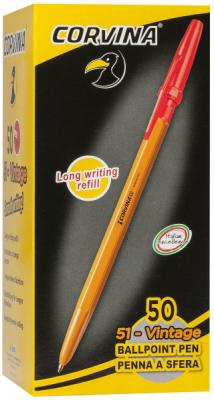 Шариковая ручка CARIOCA Corvina 51 40383/03G/28311 красный 0.7 мм