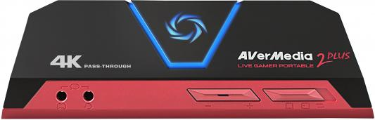 Карта видеозахвата Avermedia Live Gamer Portable 2 Plus внешний HDMI