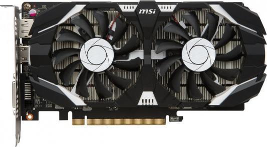 Видеокарта 2048Mb MSI GeForce GTX 1050 PCI-E 128bit GDDR5 DVI HDMI DP HDCP GTX 1050 2GT OCV1 Retail