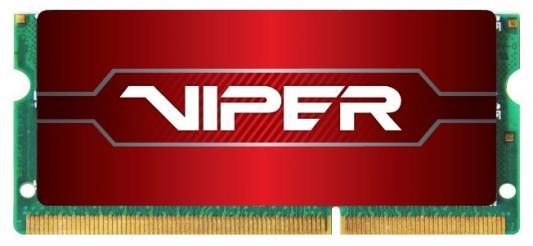 Оперативная память для ноутбуков SO-DDR4 8Gb PC4-21300 2666MHz DDR4 DIMM Patriot PV48G266C8S
