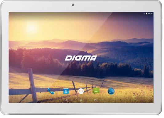 Планшет Digma Plane 1524 3G 10.1 16Gb белый Wi-Fi 3G Bluetooth Android PS1136MG планшеты digma планшет digma plane 7007 3g