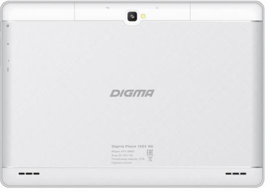 "Планшет Digma Plane 1524 3G 10.1"" 16Gb белый Wi-Fi 3G Bluetooth Android PS1136MG"