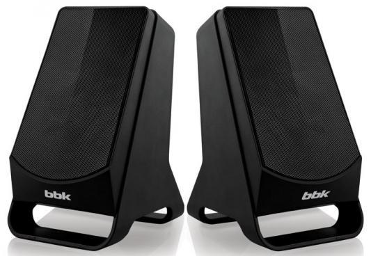 Колонки BBK CA-199S 2x3 Вт черный