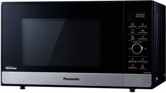 СВЧ Panasonic NN-GD39HSZPE 1000 Вт чёрный серебристый свч panasonic nn st251wzte 700 вт белый
