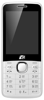 Мобильный телефон ARK Benefit U281 белый мобильный телефон ark power f1 красный