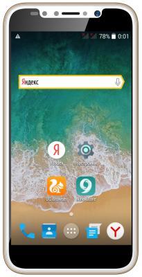Смартфон ARK Benefit S504 4 Гб золотистый