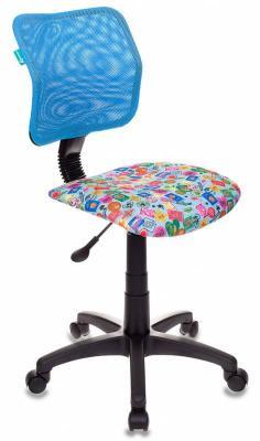 Кресло детское Бюрократ CH-295/LB/MARK-LB голубой марки