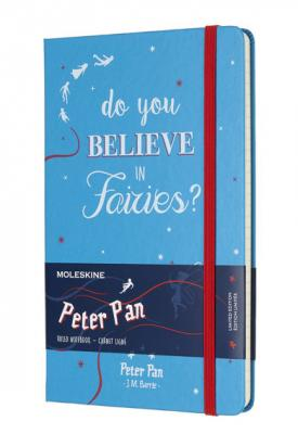 Блокнот Moleskine Limited Edition PETER PAN LEPN01DQP060 Large 130х210 мм 240 листов цена